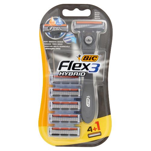 BIC Flex & Easy 4+1 gratis