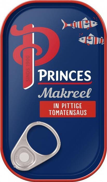 Makreelfilets in Pittige Tomatensaus (blik, 125g)