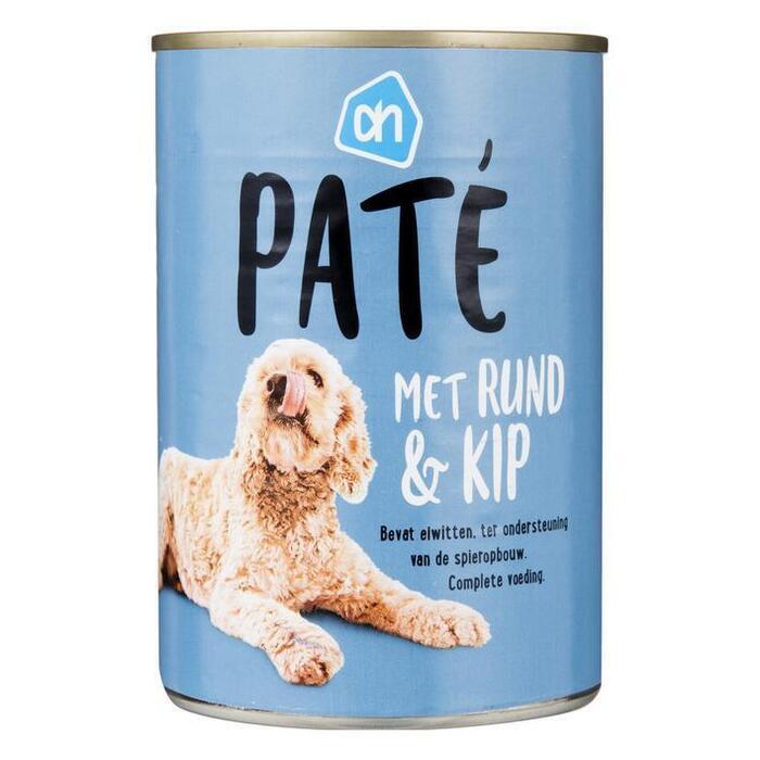 AH Paté rund-kip (voor de hond) (400g)