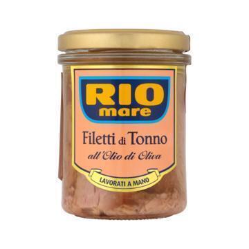 Filetti di tonno in olie (pot, 180g)
