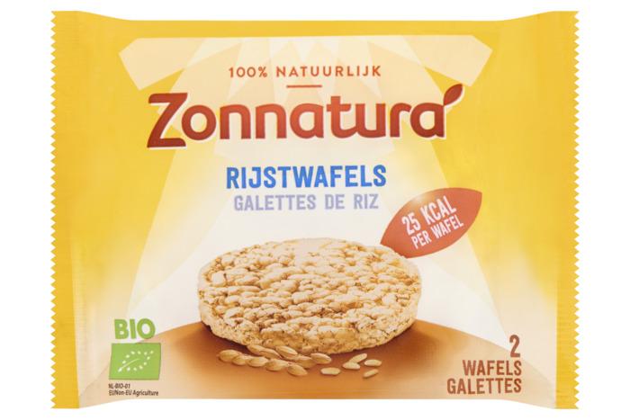 Zonnatura rijstwafels naturelduo 15g (13.5g)