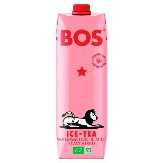 Bos Ice Tea Watermelon & Mint Flavoured 1 L (1L)