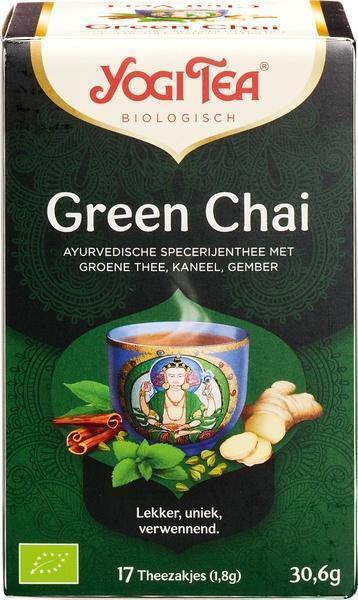 Biologisch Green Chai Theezakjes (builtje, 1.8g)