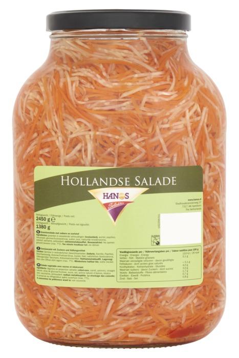 Hanos Selektie Hollandse Salade 2450 g (2.45kg)