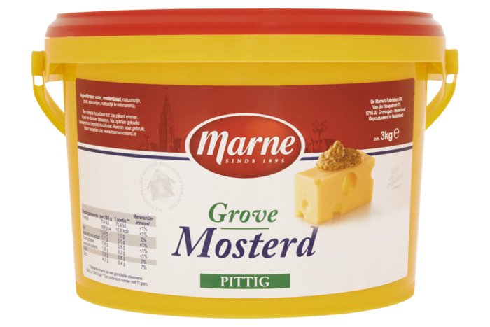 Marne Grove Mosterd Pittig 3 KGM emmer (3kg)