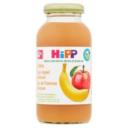 HiPP Biologisch 100% Sap Appel Banaan 4+ Maanden 0,2 L (200ml)