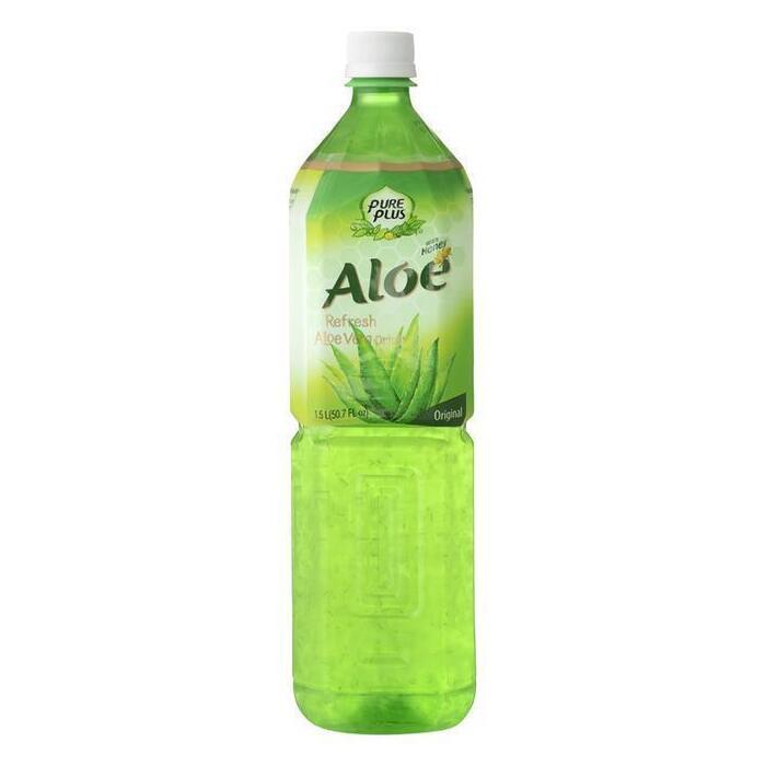 Aloe vera drink original with honey (petfles, 1.5L)