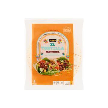 Jumbo Tortilla Naturel XL 4 Stuks 250 g (250g)