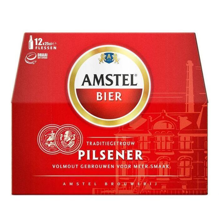 Amstel Bier Pilsener (rol, 12 × 250ml)