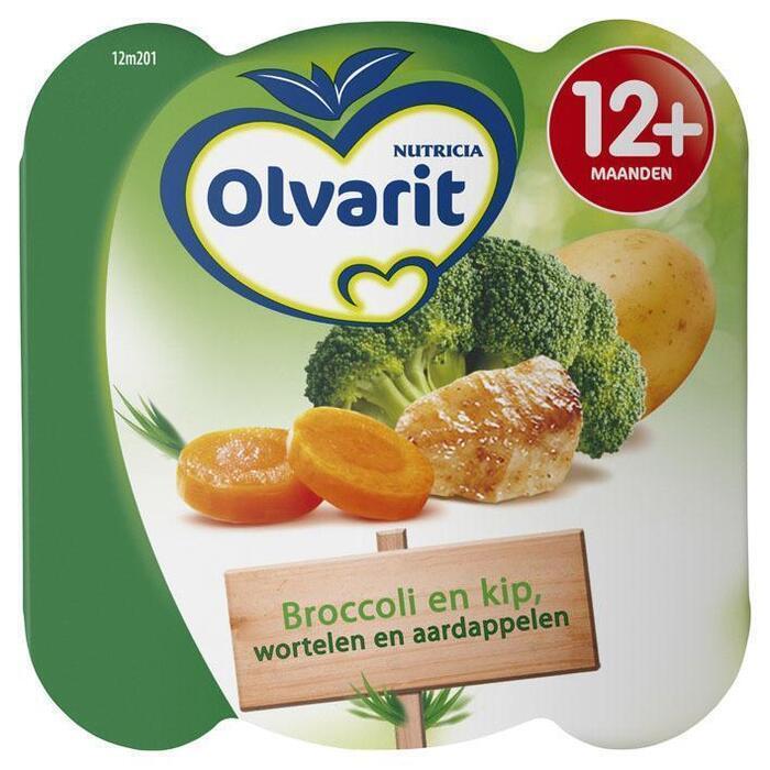 Peutermenu broccoli kip wortel (kuipje, 230g)
