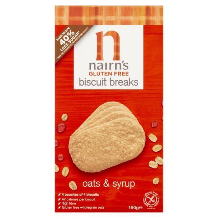 Nairn's Biscuit breaks oats syrup glutenvrij (160g)