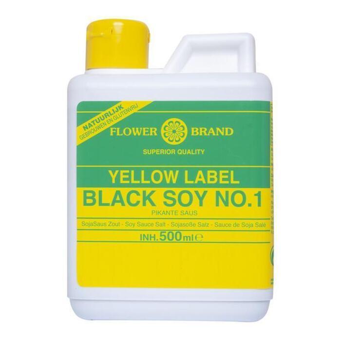Flowerbrand Black soy sauce no. 1 (0.5L)