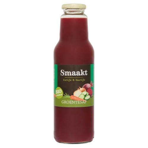 Smaakt Groentesap 750 ml fles (0.75L)