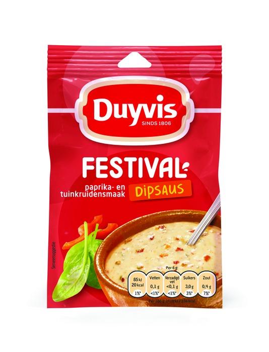 Festival dipsaus paprika-tuinkruiden (6g)