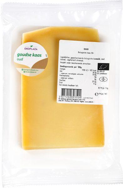 Oude kaas plakken 50+ (175g)