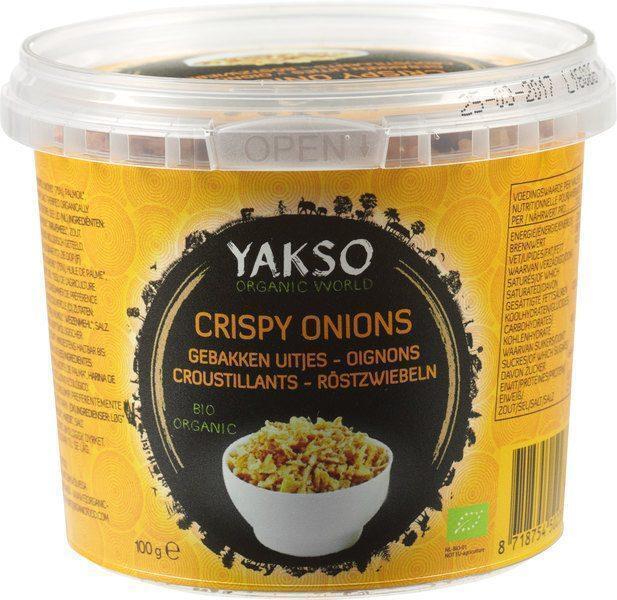 Gebakken uitjes (crispy onions) (100g)