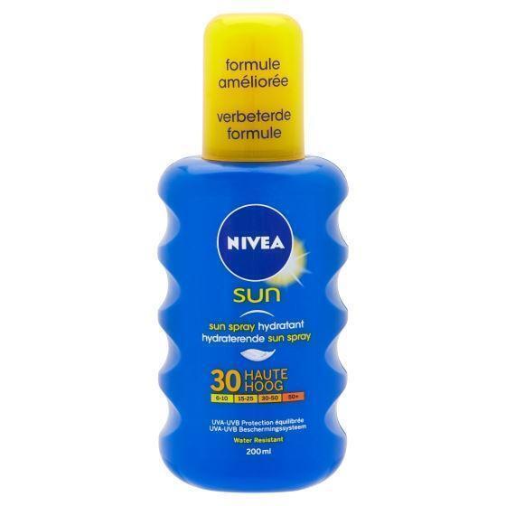 Nivea Sun Hydraterende Sun Spray 30 Hoog 200 ml (200ml)