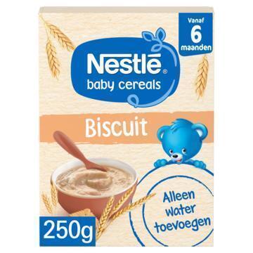 Nestlé Ontbijtpapje biscuit 6+ mnd baby pap (250g)