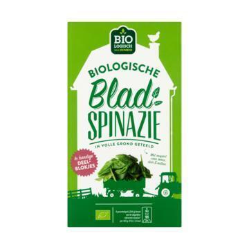 Biologische Blad Spinazie (doos, 450g)