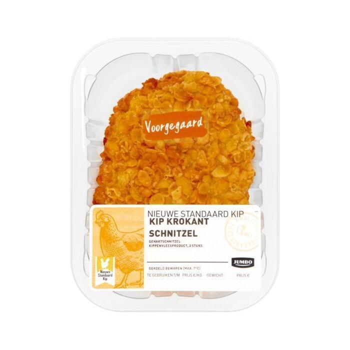 Jumbo Kip Krokant Schnitzel Voorgegaard (2 × 100g)