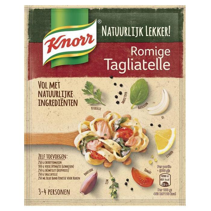 Natuurlijk mix romige tagliatelle (Stuk, 39g)
