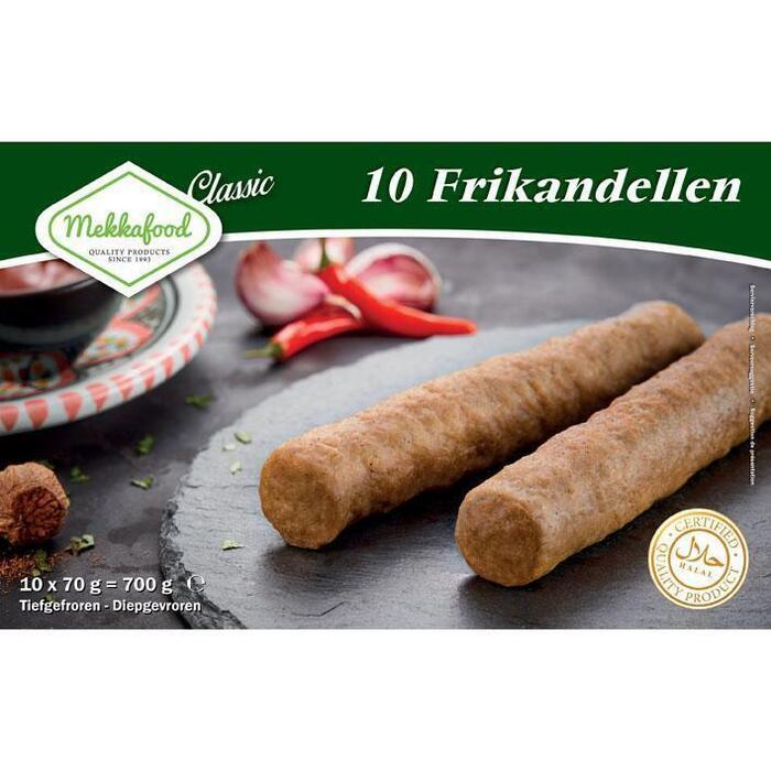 Mekkafood Frikandellen 20st PAK 700GR (10 × 70g)