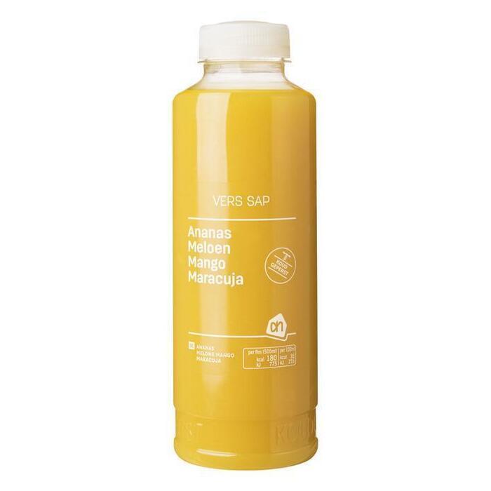 AH Vers sap ananas/ meloen/ mango (glas, 0.5L)