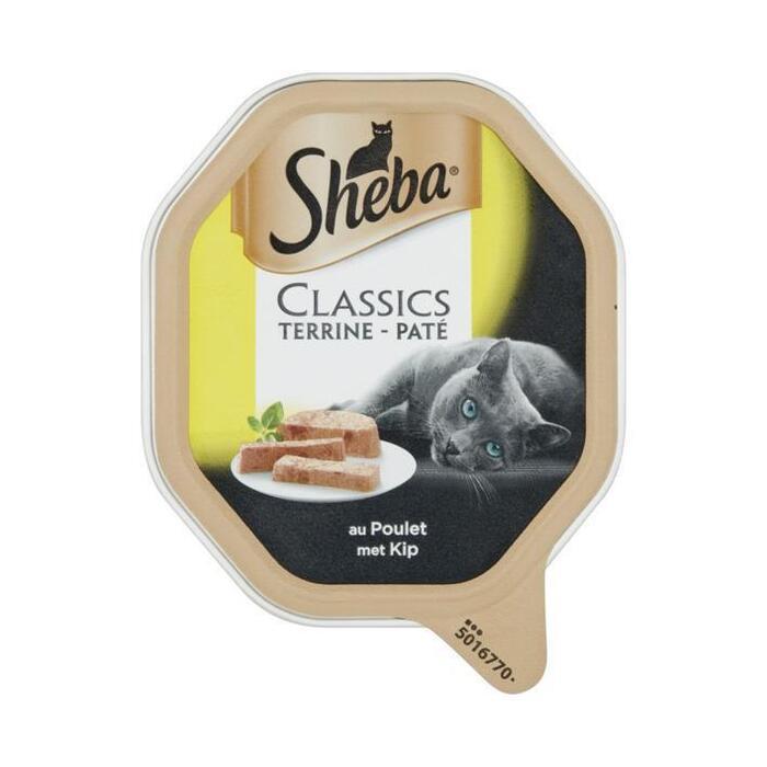 Sheba Classic Paté met Kip 85 g (kuipje, 85g)