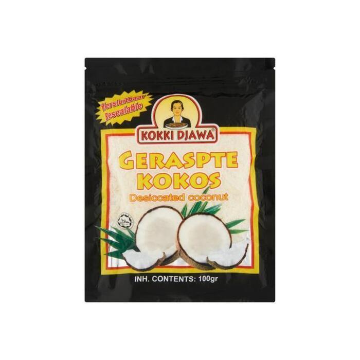 Kokki Djawa Geraspte Kokos 100g (100g)