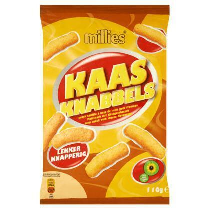 Kaasknabbels (zak, 110g)