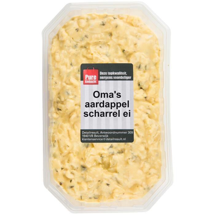 Oma's aardappel  scharrelei salade (350g)