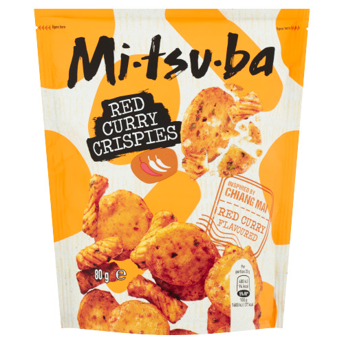 Mitsuba Red Curry Crispies 80 g (80g)