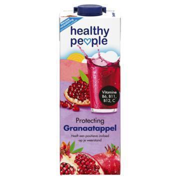 Healthy People Granaatappel 1 L (Stuk, 1L)