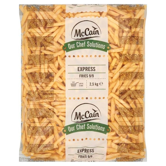 MCCAIN OUR CHEF SOLUTIONS EXPRESS FRITES 9/9 (2.5kg)