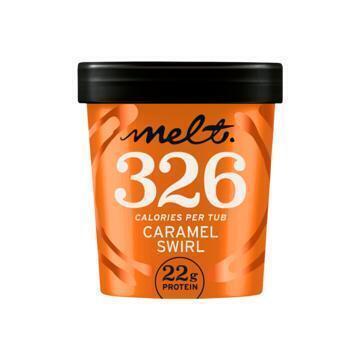 Melt Caramel Swirl box 470ml beker (47cl)
