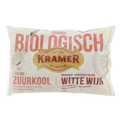 Biologische Wijn Zuurkool (zak, 520g)