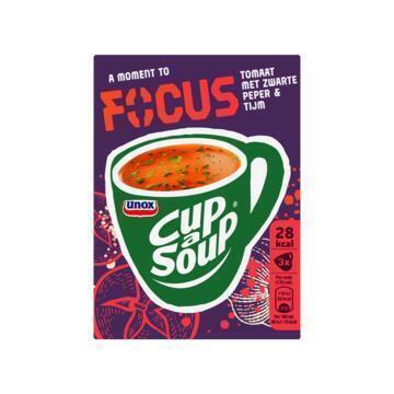 Unox Cup-a-Soup focus (3 × 9.5g)