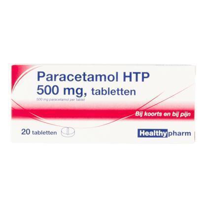Paracetamol 500mg (20 × 0.5L)
