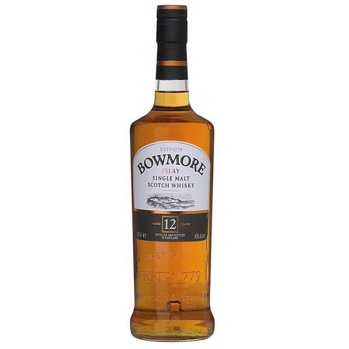 Bowmore Islay single malt Scotch whisky 12 years (rol, 70 × 0.7L)