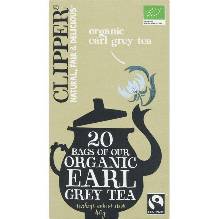 Organic Earl grey tea (builtje, 20 × 40g)