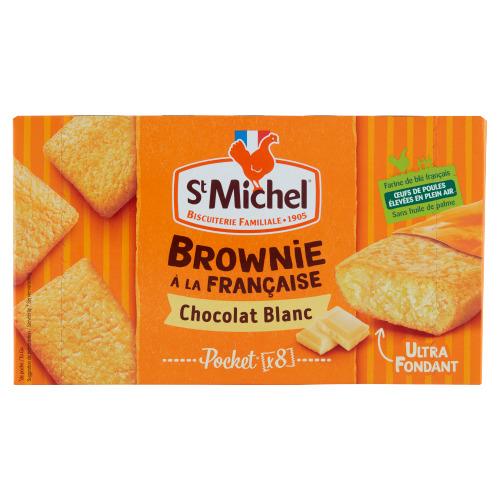 St Michel Mini Brownie Blanc 8 Stuks 240 g (240g)
