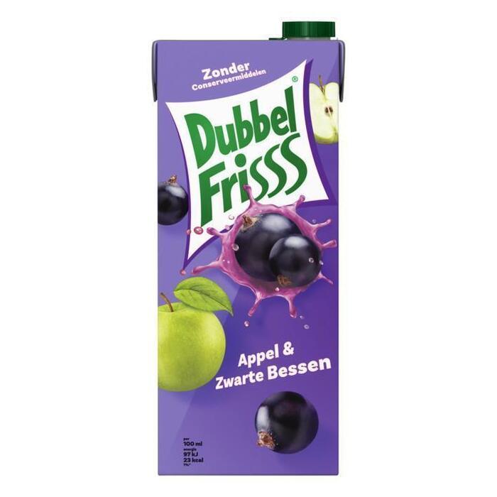 Dubbel Frisss Appel & Zwarte Bessen (Stuk, 1.5L)