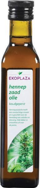 Hennepzaadolie (fles, 250ml)