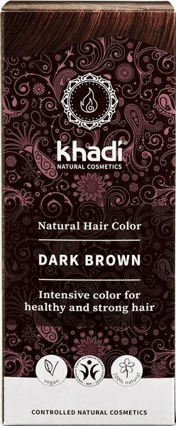 Hair colour dark brown (100g)
