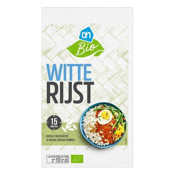 AH Biologisch Witte rijst (400g)