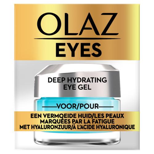 Olaz Eyes Intens Hydraterende Oogcontourgel Voor Vermoeide, Droge Huid 15ml