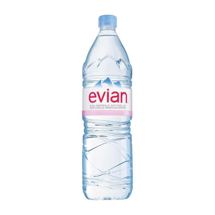 Evian Natuurlijk mineraalwater (6 × 3L)