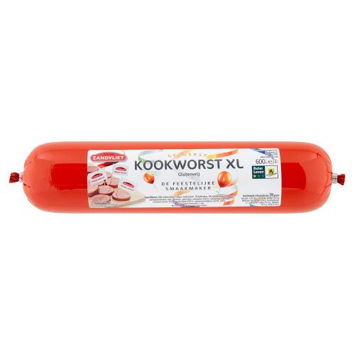 Zandvliet Gelderse Kookworst XL 600 g (600g)