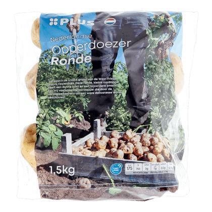 Opperdoezer ronde aardappelen (1.5g)