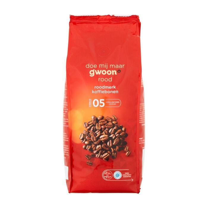 Koffiebonen Rood (500g)